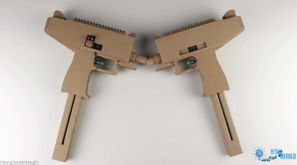ساخت تفنگ با کارتن