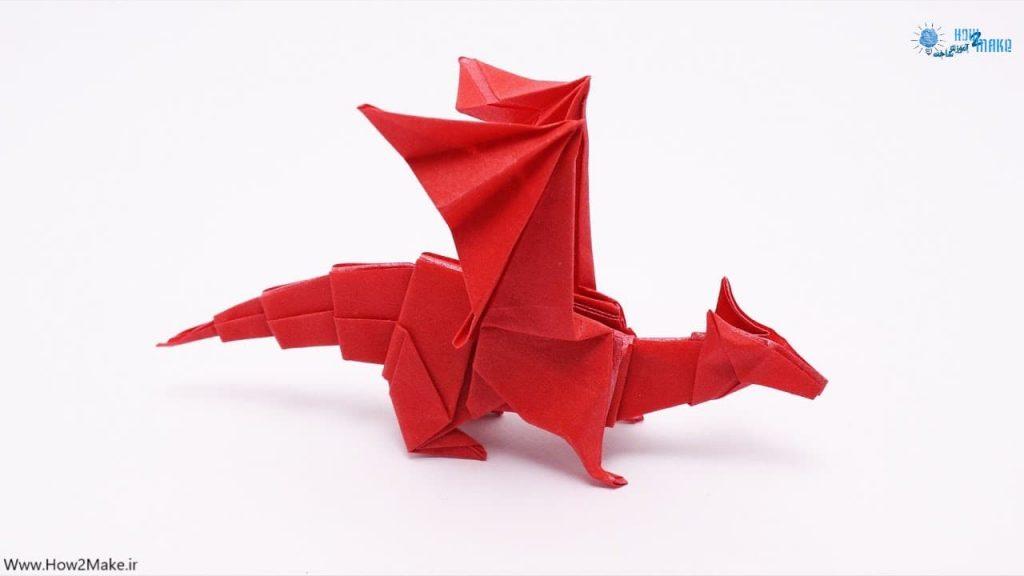 اوریگامی اژدها 2