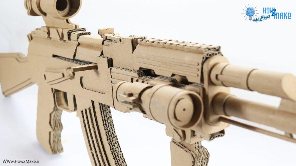 تفنگ کارتنی کلاشینکف