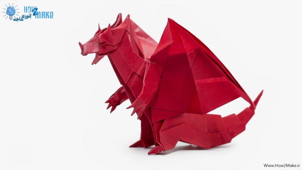 اوریگامی اژدها 3