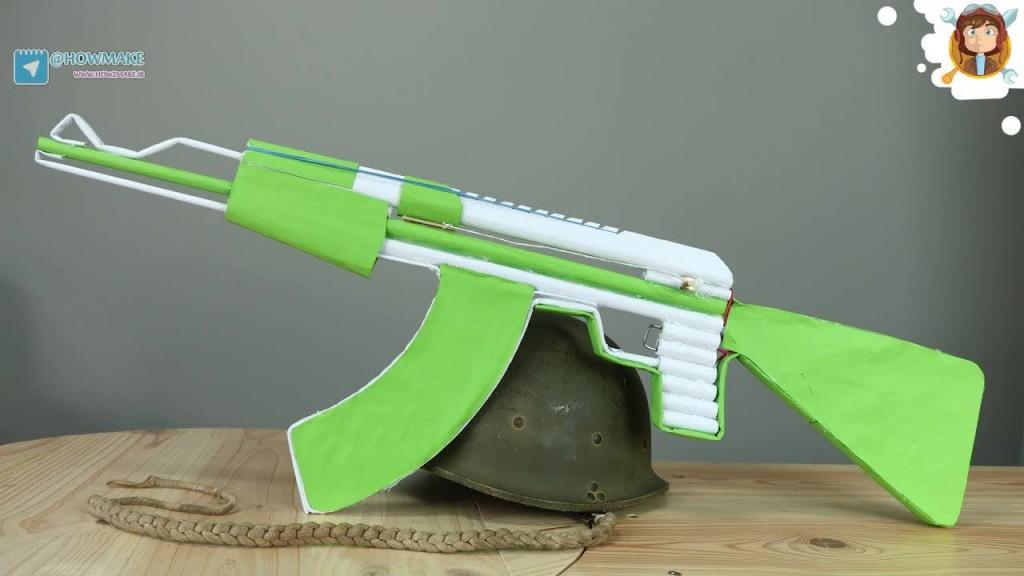 تفنگ کاغذی 5