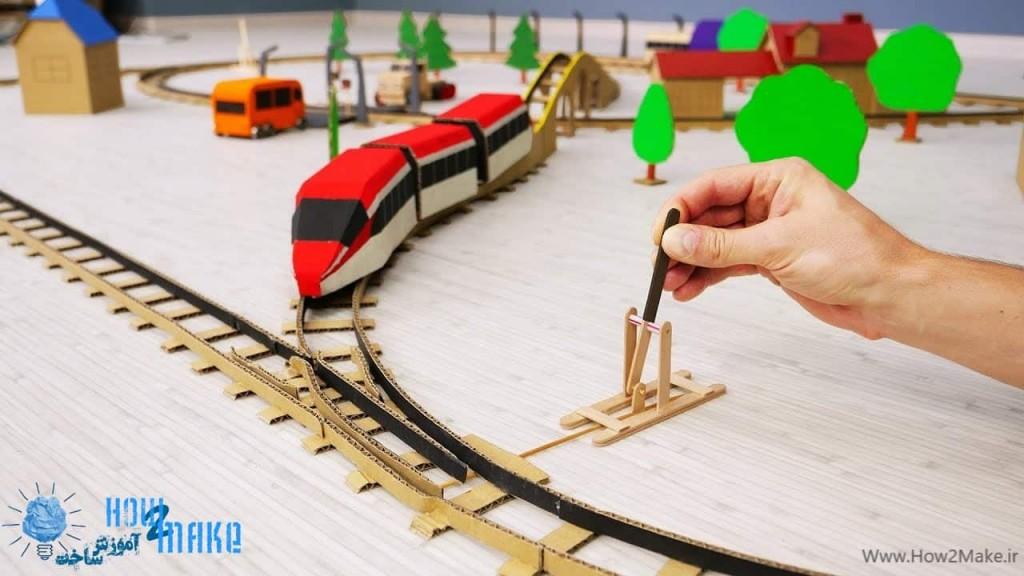 قطار اسباب بازی