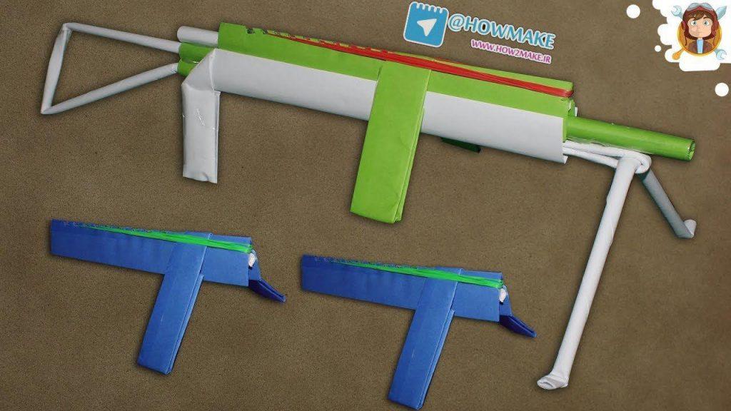 تفنگ کاغذی 2