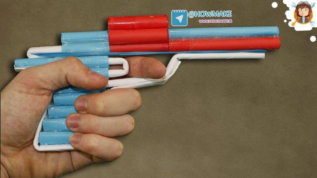 تفنگ کاغذی