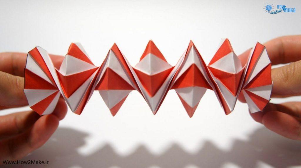 اوریگامی فنر